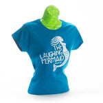 Laughing Mermaid Semi-fitted Ladies T-Shirt