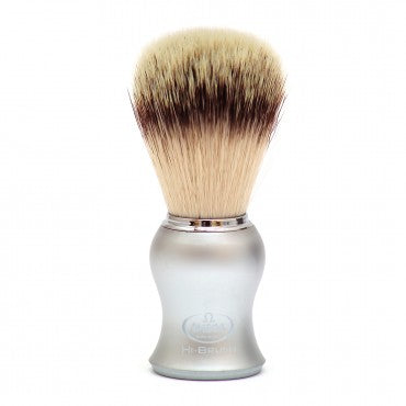 Silver Omega Synthetic Shave Brush