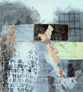 "Monoprint - ""Fleeting Memories"""