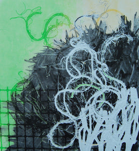 """GreenTangle"" Monoprint"