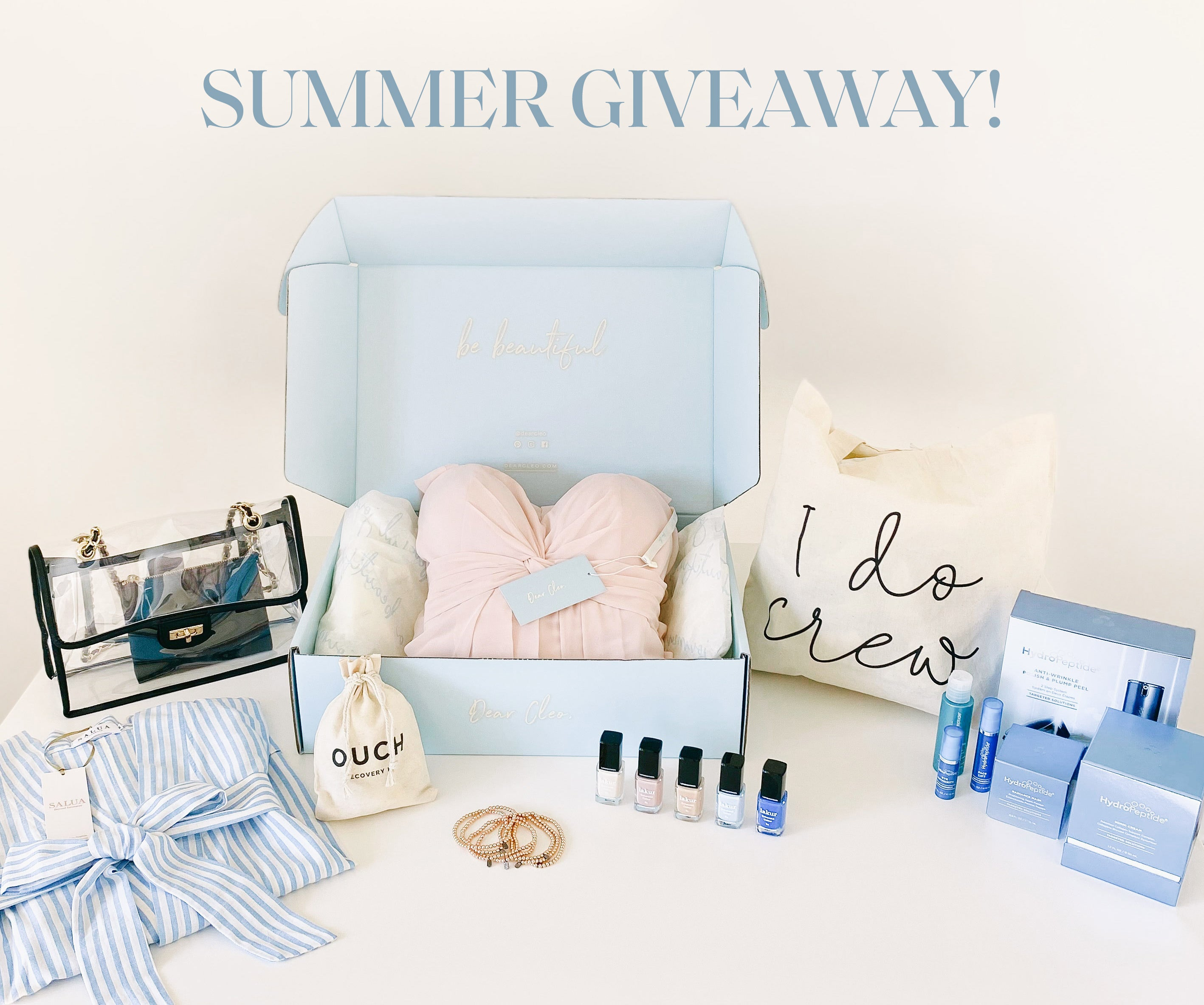Dear Cleo Summer 2020 Giveaway