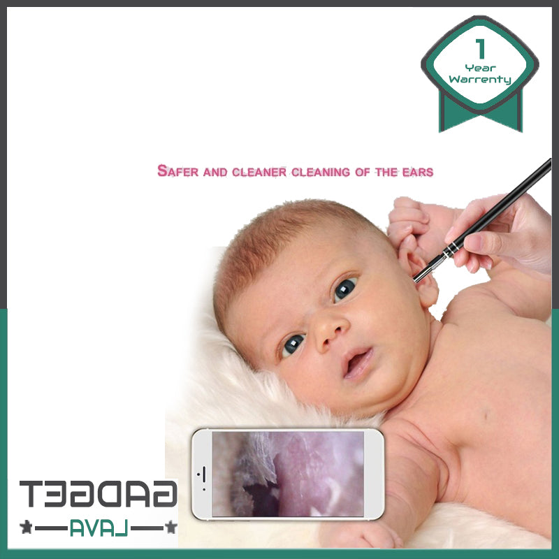 USB Ear Cleansing Tool for Adults and Baby with HD Visual and endoscope 2019 Model.