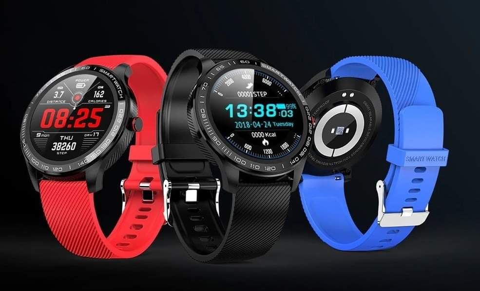 Smart HD Sports/Business Watch Men ECG+PPG+Blood Pressure+Oxygen Monitor with Full Screen Touch 2020 Edition.