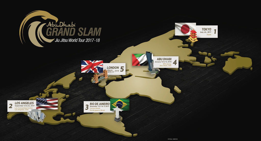 UAEJJF ANNOUNCES ABU DHABI GRAND SLAM WORLD TOUR SEASON 3 [2017-18]
