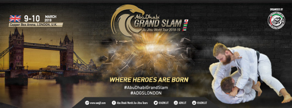 London Hosts The 5th and Final Leg Of The Abu Dhabi Grand Slam Jiu-Jitsu World Tour