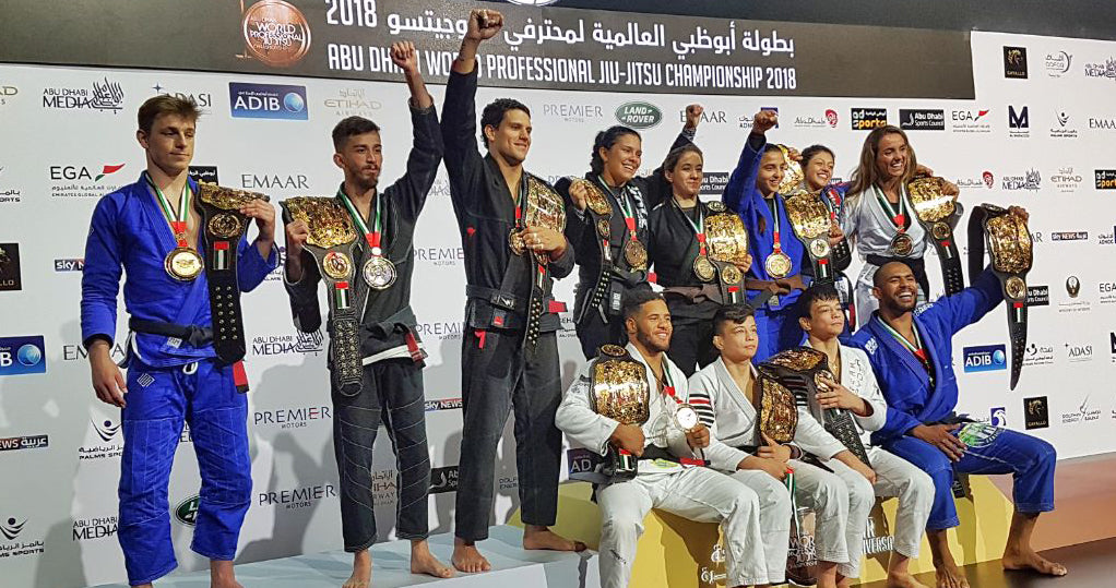 Abu Dhabi World Pro 2018 Results
