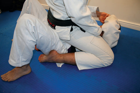 bjj jiujitsu mount foot position