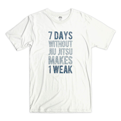 '7 Days' Shirt - White