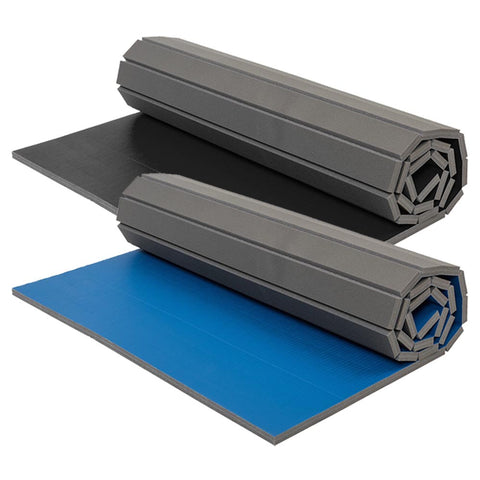 Zebra 10' x 10' Premium Roll-Out Mats with Tatami Surface (available in 2 colors)
