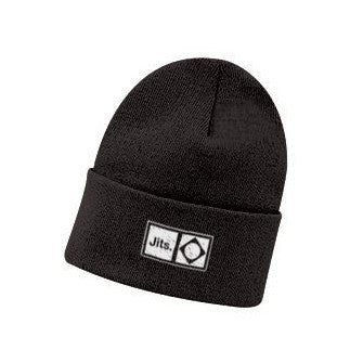 'Flag Mark' Beanie - Black