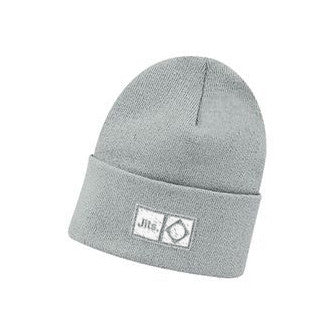 'Flag Mark' Beanie - Grey