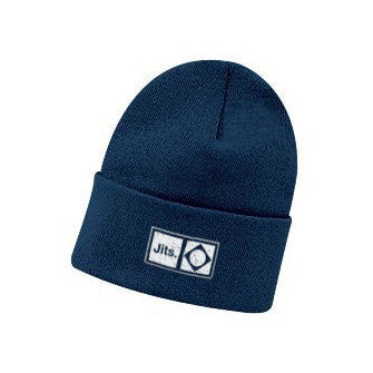 'Flag Mark' Beanie - Navy Blue