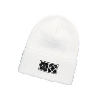 'Flag Mark' Beanie - White
