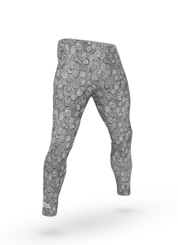 'Onda' Grappling Spats - Grey