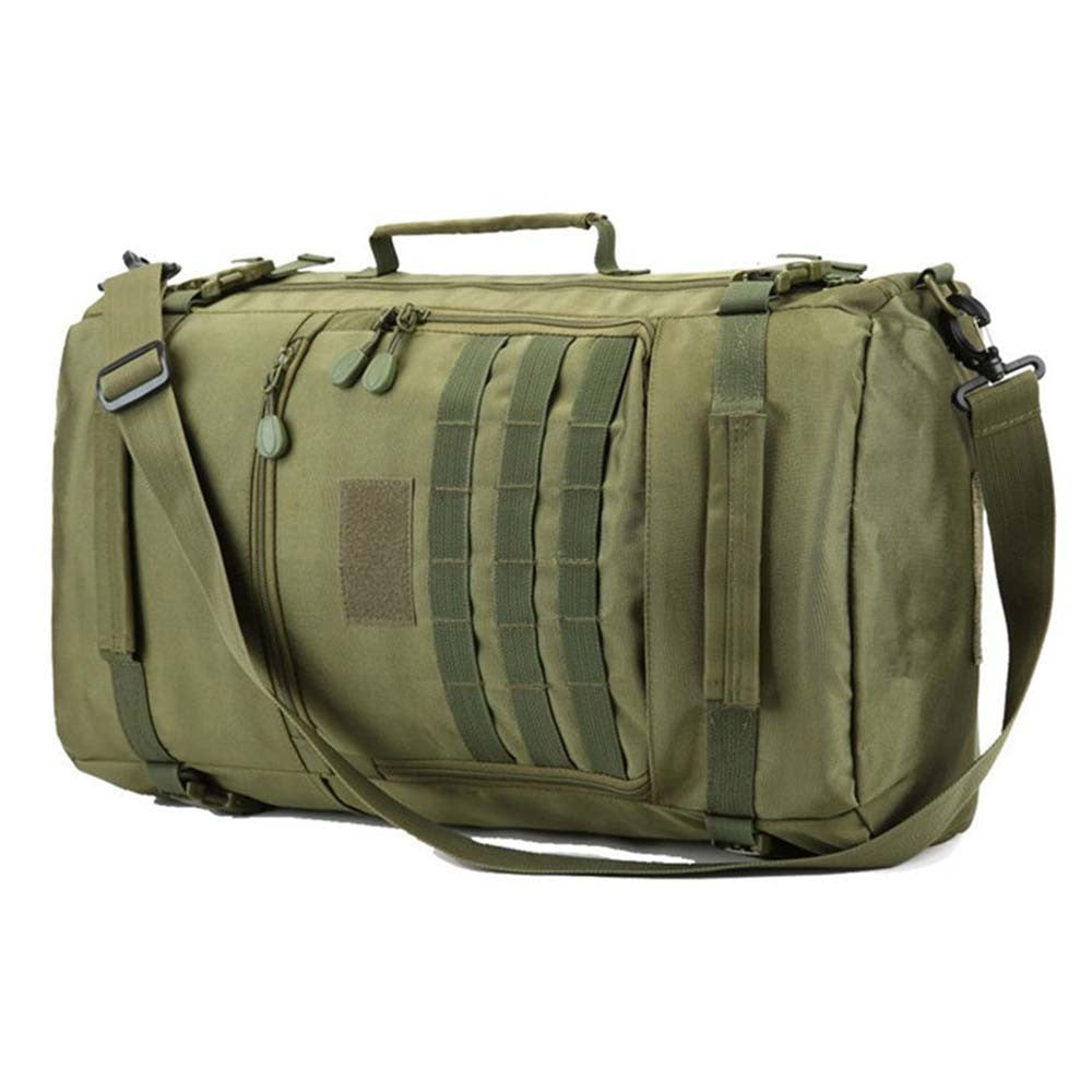 military style convertible bag 4 colors available in 2 sizes