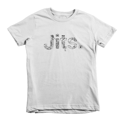 'Ingredients' Kids Shirt - White