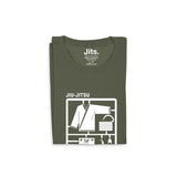 'Jiu-Jitsu Starter Kit' Shirt - City Green