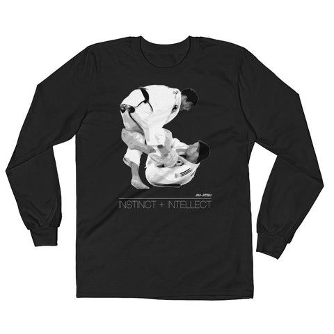 'Equation' Long Sleeve Shirt - Black