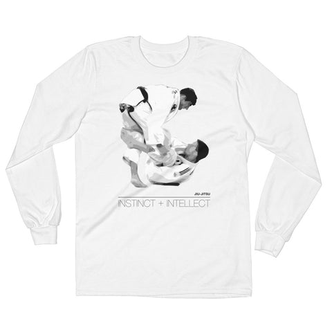 'Equation' Long Sleeve Shirt - White