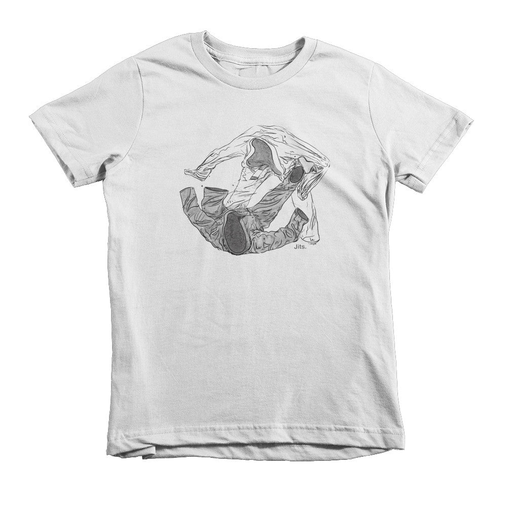 'Phantom Spider' Kids Shirt - White