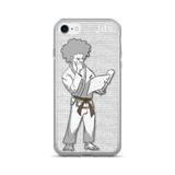 'Brown Belt Reader' iPhone Cases