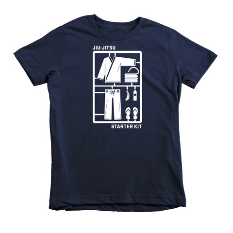 'Jiu-Jitsu Starter Kit' Kids Shirt - Navy Blue