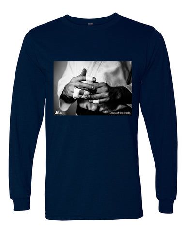 'Tools of the Trade' Long Sleeve Shirt - Photography Collection - Navy