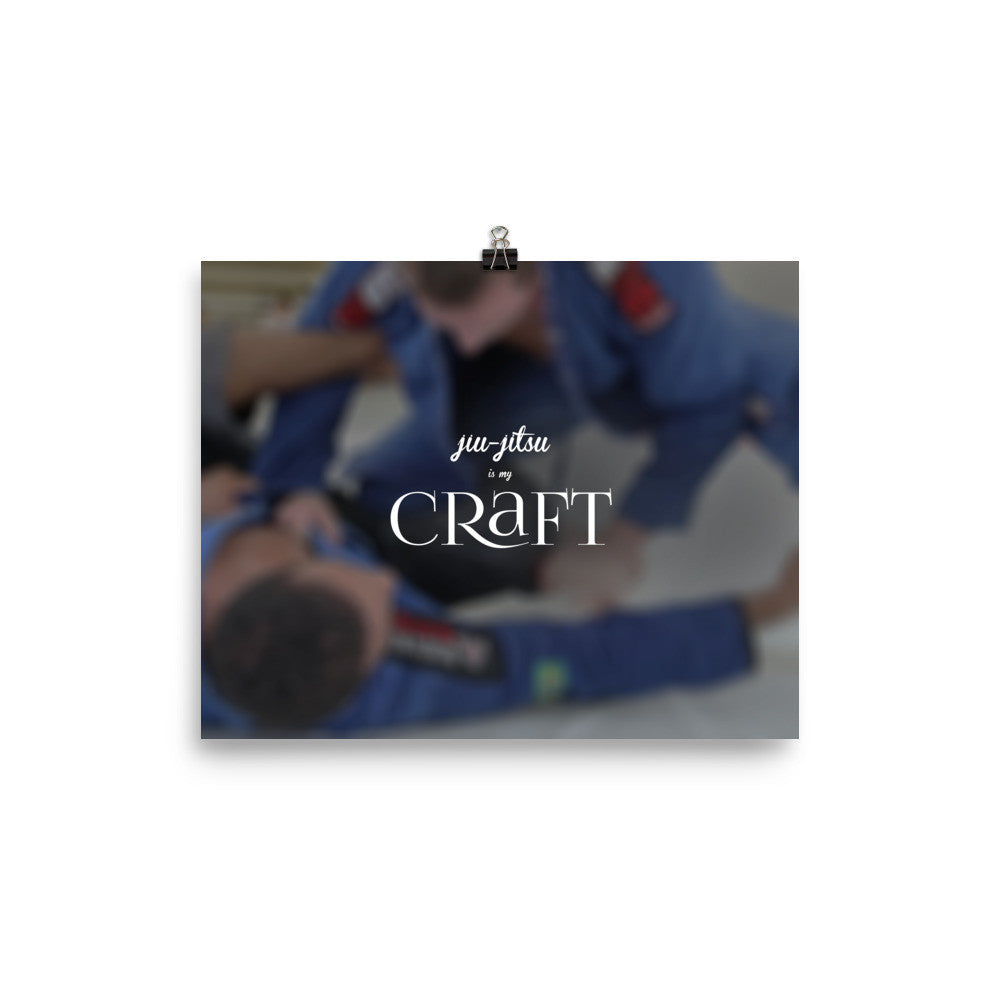 'Craft' Matte Wall Poster