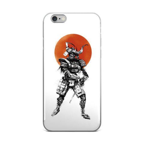 'Zombie Samurai' iPhone Cases