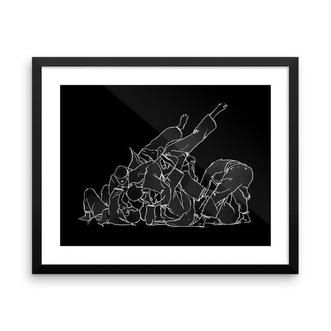 'Darkroom Sweep' Framed Museum Print