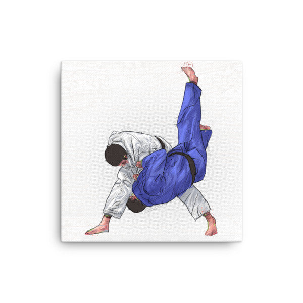 'Air Time' Stretched Canvas Wall Art