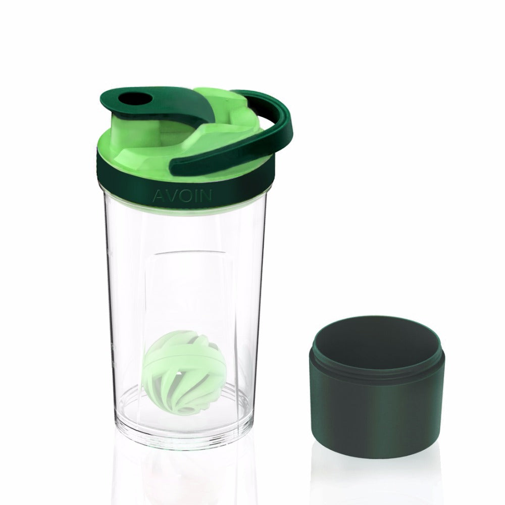 720mL Protein Shaker Bottle with Pro Whisk Ball and 200cc of Storage