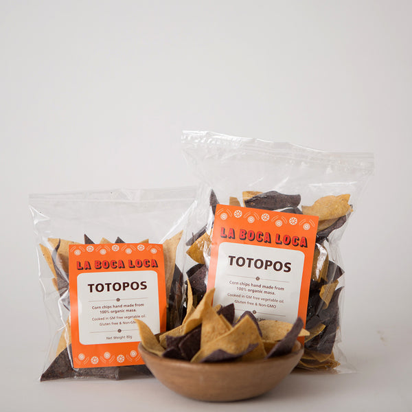 Totopos (corn chips)