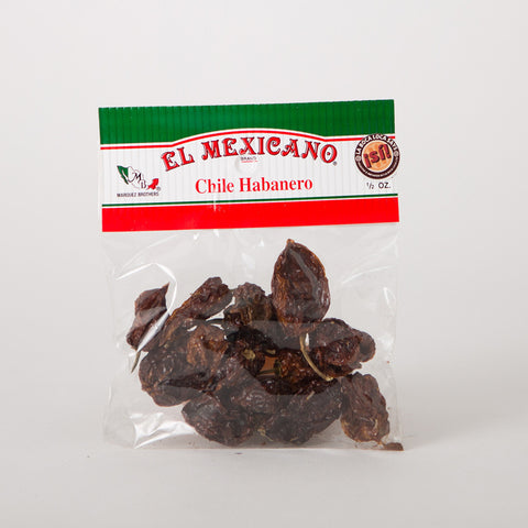 Habanero Dried Chillies