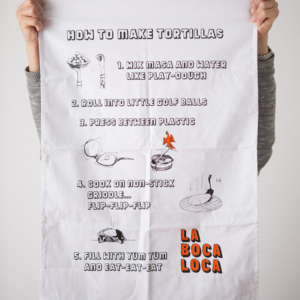 La Boca Loca tea Towel