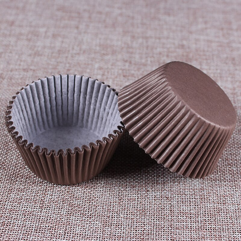 100PCS/Set Paper Cake Cups Baking Cupcake Stand Muffin Cup Party Cake Mold Decorating Tools