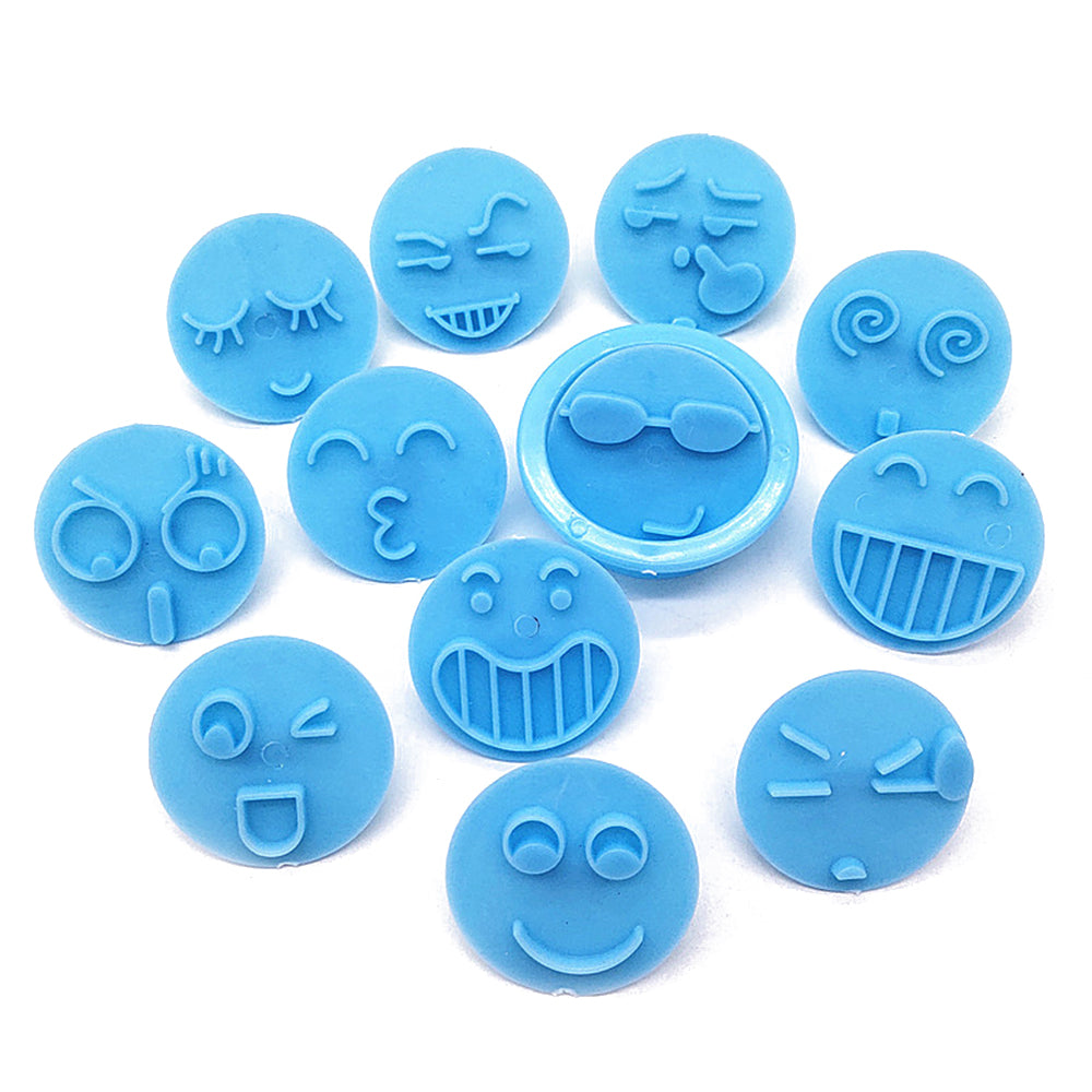 13pcs/set Emoji Cookie Cutters Diy Smiling Face Cookie Cutter Set Biscuits mold Cake Embossing