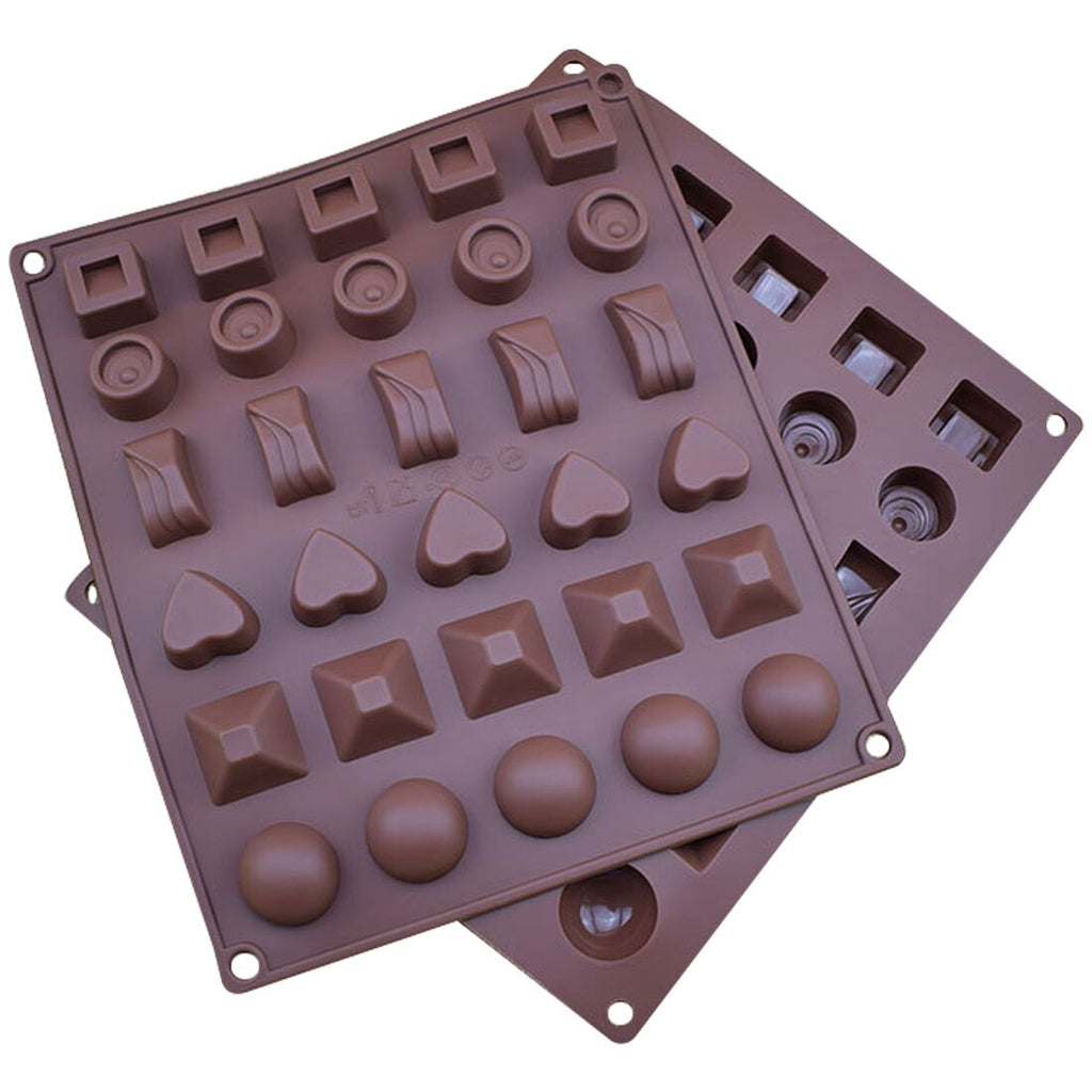 19 Silicone mold Shape 3D Silicone Numbers Fruit Chocolate Mold Candy Cookie Baking Fondant Mold