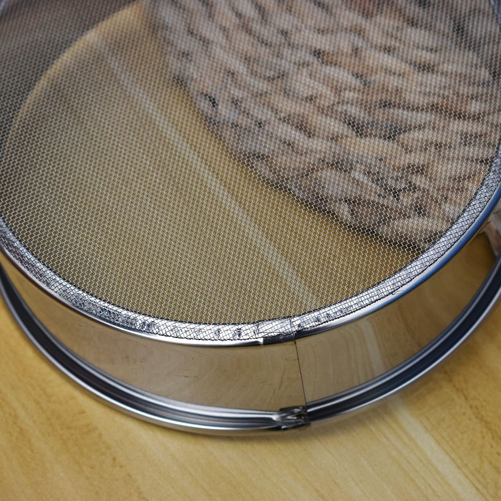 1PC Stainless Steel Mesh Flour Sifting Sifter Sieve Strainer Cake Baking Kitchen Perfect