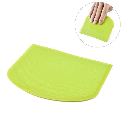 1pc Flexible Curved Edge Dough Scraper Baking Tool Kitchen Gadget for Baking Bread Kitchen Cake