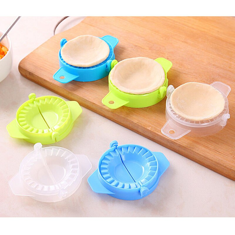 1 or 3 pcs Home Kitchen Cooking Tools Magic Creative Manual Pack Dumpling Machine Easy Eco Friendly