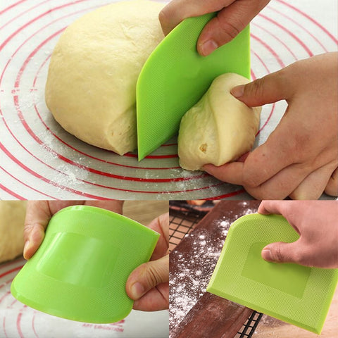 Cream Smooth Cake Spatula Baking Pastry Tools Dough Scraper Kitchen Butter Knife Dough