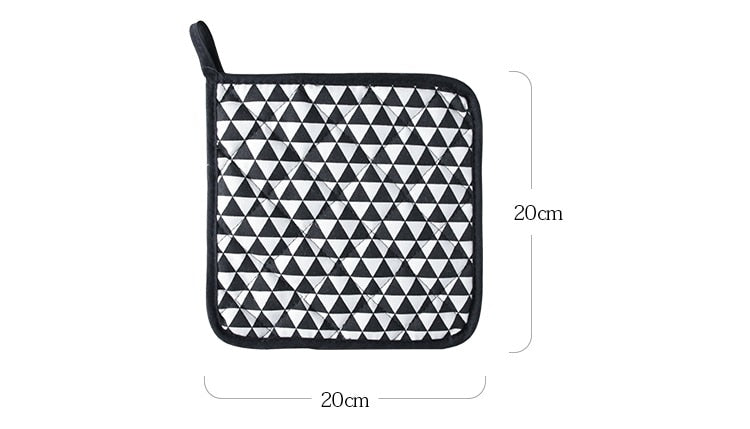 2 pieces thick cotton heat Resistant Hot Pads Multipurpose Pot Holders, Trivets, Jar Openers,