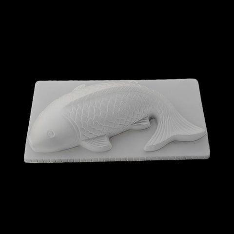 3D Koi Fish Shape Plastic Cake Chocolate Jelly Sugarcraft Mould Mold Baking Tool