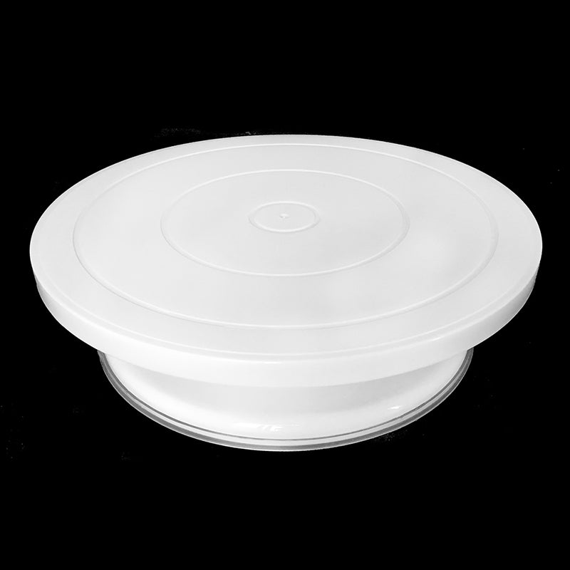27.5cm Kitchen Cake Decorating Icing Rotating Turntable Cake Stand Plastic Fondant Baking Tool DIY