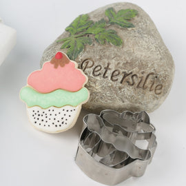 3pc Foot Metal Cookie Cutter, Biscuit, Pastry, Fondant Cutter Baby Shower Party Favor Shoe Feet