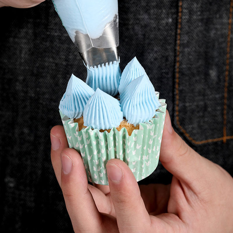 3pcs/set Nozzle for Cake Cream Piping tips Metal Pastry Nozzles for Confectionery Bag