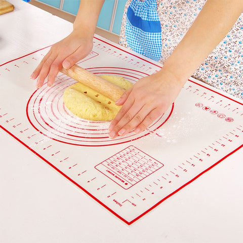 40x60cm Mat for Baking Silicone Mat for Oven Dough Rolling Cooking Non-stick Mat Kitchen Baking