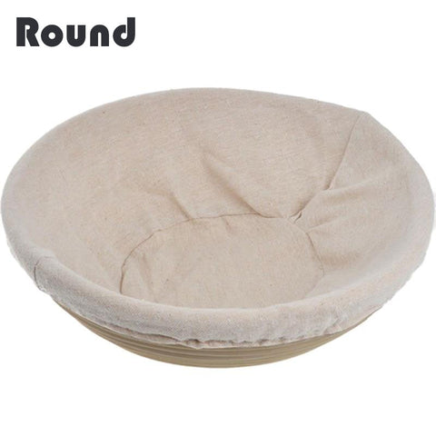 8 Sizes Oval or Round Dough Banneton Brotform Dougn Rattan Bread Proofing Proving Baskets Fermentation Wicker