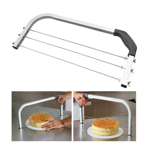 Adjustable Large 3 Blades Cake Cutter Interlayer Cake Slicer DIY Household Baking Tools Leveler